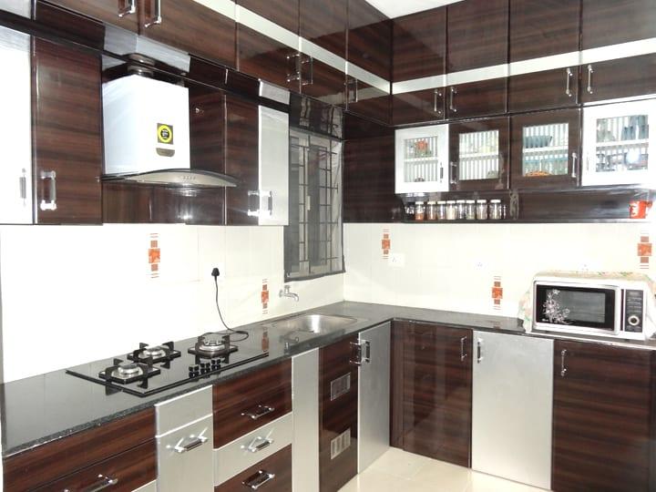 ... Modular Kitchen Interior Design With Amenities  Sri Home  ...