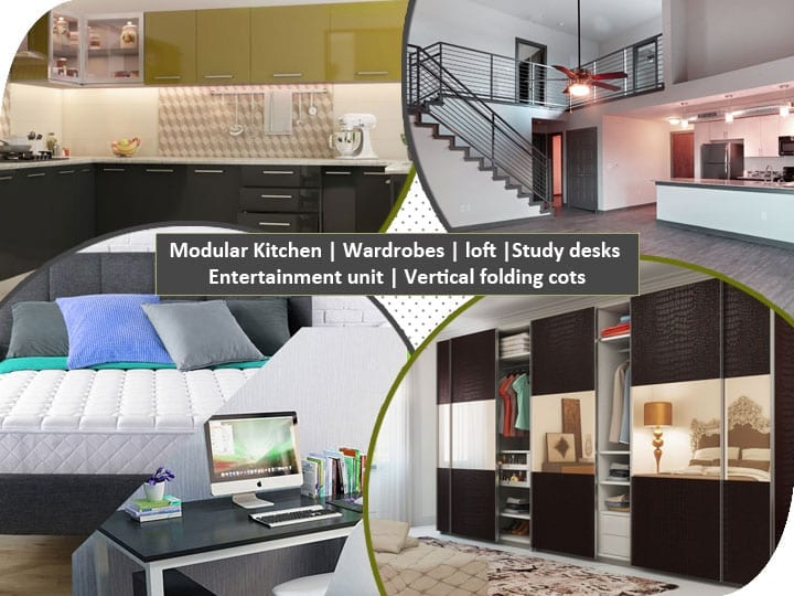 modular-kitchen-wardrobw-loft-study-desks-entertainment-vertical-folding-cots-combo3